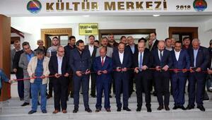Tulumtaş Kültür Merkezi açıldı