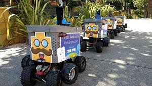Yemeğinizi ayağınıza getiren robot: Kiwi Botlar