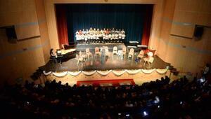 Edirnede, Gönül elçilerinin eğitim verdiği öğrencilerden konser
