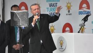 Erdoğan: Bana icazeti Pensilvanya değil halkım verdi