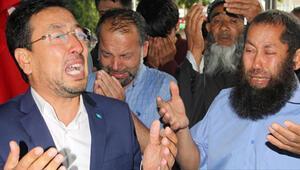Kayseride Doğu Türkistanlı alim için gözyaşları sel oldu