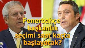 Fenerbahçe başkanlık seçimi ne zaman hangi gün yapılacak Tarihi kongre başladı