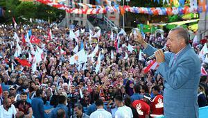 Cumhurbaşkanı Erdoğandan İnceye sert sözler: Biz bu çapsızlarla yarışmıyoruz