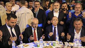 Kılıçdaroğlu, Pendikte sokak iftarına katıldı