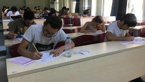 Üniversite adaylarına YKS provası