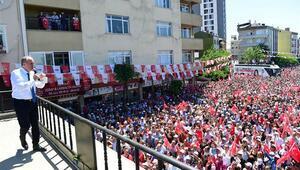 Herkesi aşağı indirdi... Muharrem İnce İstanbulda konuştu