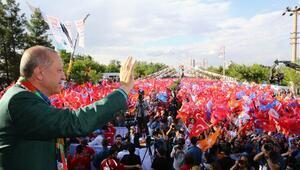 Cumhurbaşkanı Erdoğan: Kimse Kürtlere devlet aramasın, Kürtlerin devleti Türkiye Cumhuriyeti devletidir