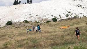 Paraşüt yere çakıldı, genç turist hayatını kaybetti