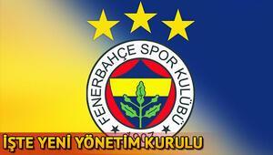 Fenerbahçenin yeni yönetim kurulu | İşte Ali Koçun ekibi