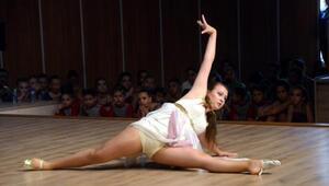 Modern dans tutkunları Bodrumda buluştu