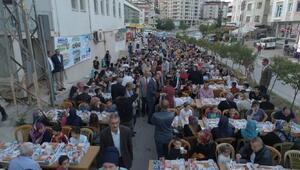 750 metre uzunluğunda dev iftar sofrası