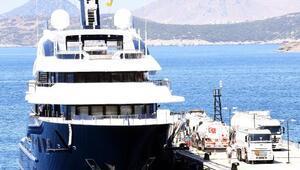 Haftalık kirası 1 milyon 220 bin euro olan Solandge Bodrumda