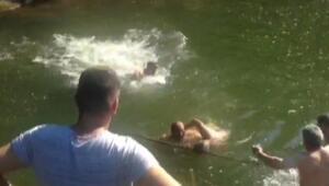 12 yaşındaki Cemil, gölette boğuldu