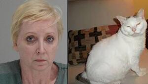 Ülke şokta Kedisi için kocasını öldürdü...