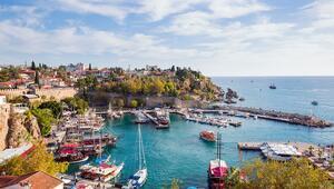 Turizmin cenneti Antalya mavi bayrakta lider