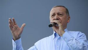 Cumhurbaşkanı Erdoğan'dan Muharrem İnce'ye sert sözler: Sen ne zamandan beri Hitler oldun