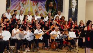 Türkü konserine yoğun ilgi