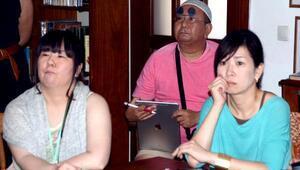 Japon gazeteciler Bodrumda