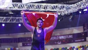 U23 Avrupa Güreş Şampiyonasında grekoromen stil maçları tamamlandı