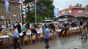 Sarıoğlanda toplu iftar