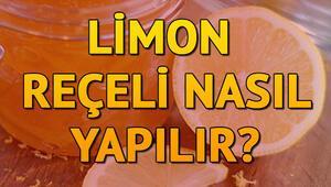 Limon reçeli nasıl yapılır Limon reçeli tarifi