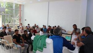 Seydişehirde Başkanlık Kupası Futbol Turnuvası kuraları çekildi