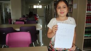 Öğrenciden kütüphane yetkililerine özür mektubu