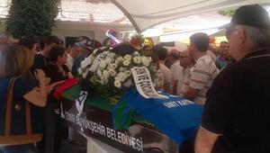 Futbol camiası Kayıhan'ı son yolculuğuna uğurladı
