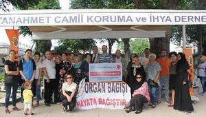 Sultanahmet Camii'nde organ bağışçıları adına mevlid-i şerif okutuldu