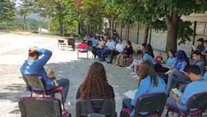 Demirköy Anadolu Lisesi'nde okuma etkinliği yapıldı