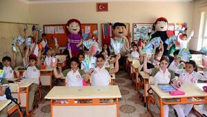 Öğrencilere su tasarrufu eğitimleri verildi