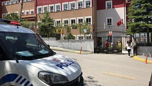 Ankarada panik Okul önünde silah sesleri