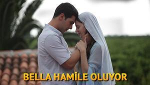 Yeni Gelin dizisinin 53. bölüm sezon finali fragmanında Bella hamile mi