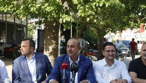 Bakan Çavuşoğlu: Kandilde teröristlerin tepesine bineceğiz