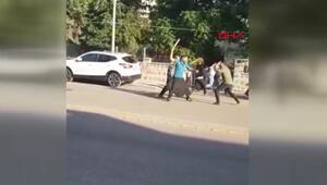 1 kişinin öldüğü 6 kişinin yaralandığı aile kavgası kamerada