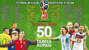 Dünya, yine topun çevresinde dönecek... 8 grup, 32 takım, 1 kupa