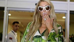 Paris Hilton Antalyaya geldi
