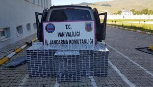 Vanda 7 bin 500 paket kaçak sigara ele geçirildi