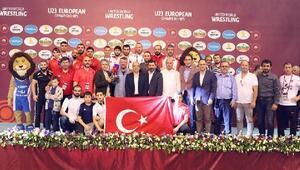 U23 Avrupa Güreş Şampiyonası sona erdi