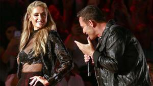 Mustafa Sandal söyledi Paris Hilton coştu