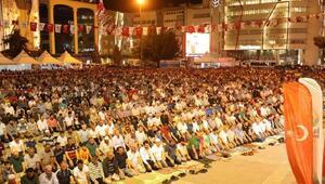 Samsunlular Kadir Gecesinde Cumhuriyet Meydanında buluştu