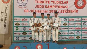 Selçuklu Belediyespor Judo takımından altın madalya