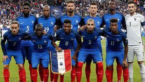 2018 Dünya Kupasında Fransa Milli Takım kadrosunda kimler var