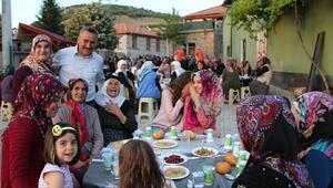 Seydişehirde mahalle iftarları son buldu