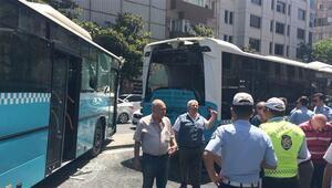 Şişlide otobüs kazası