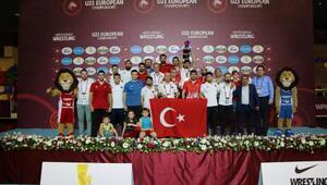 Türkiye, U23 Avrupa Güreş Şampiyonasında madalya rekoru kırdı