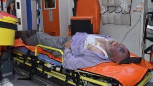 Bahçe duvarından düşen yaşlı adam öldü