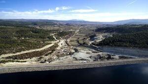 Gördes Güneşli Barajı yöreye can verdi