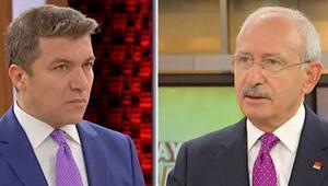 Kılıçdaroğlu, Fox TVde canlı yayında soruları yanıtladı