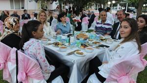 Tokat polisinden şehit aileleri ve gaziler onuruna iftar
